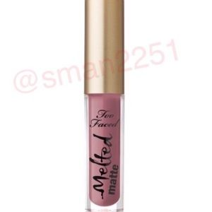🔝5 for $25!💖Too Faced Melted MATTE Liquid Lip